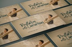 Loutters   Handwritten Brush Font Product Image 3
