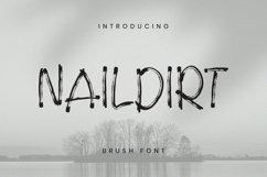 Web Font Naildirt Font Product Image 1