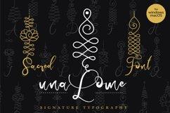 Unalome Sacred Font Product Image 1