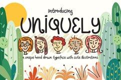 Uniquely Font Product Image 1