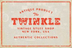Marline - Vintage Texture Font Product Image 3