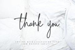Creamy Micka | Luxury Signature Font Product Image 5