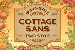 Cottage Sans - 1950's Style Product Image 1