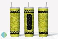 Skinny Tumbler Sublimation Design - Glitter Crayon Tumblers Product Image 5