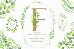 Foliage watercolor collection vol.1 Product Image 1