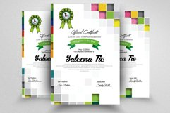 Clean Diploma Certificate Template Product Image 2