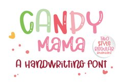 Candy Mama- A handritten font Product Image 1