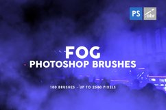 Fog Photoshop Stamp Brushes Product Image 1