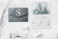 Winter Watercolors & Alphabets Product Image 6