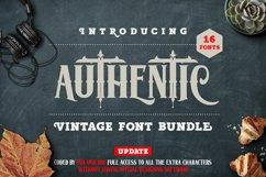 Authentic Vintage Font Bundle Product Image 1