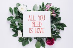 Lovey Dovey Natural Tall Serif Font Product Image 5