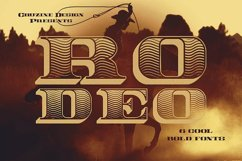 Rodeo Typeface Product Image 1