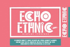Echo Ethnic Product Image 1