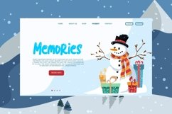 Blue snow | Funny Typeface Product Image 4