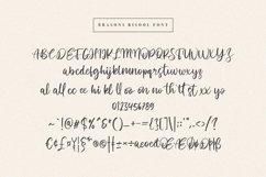 Brasons Risool Modern Script Font Product Image 4
