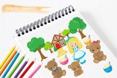 Goldilocks graphics and illustrations Product Image 3