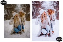 10 Snowy Dream Photoshop Actions And ACR Presets, Ps Winter Product Image 5