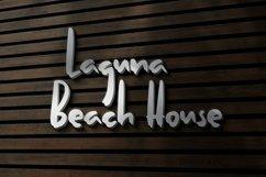 Web Font Laguna - Unique Handwritten Font Product Image 5