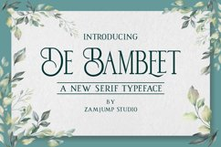 De Bambeet Product Image 1