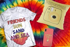 Teen Summer - Layered and Cliparts Product Image 6