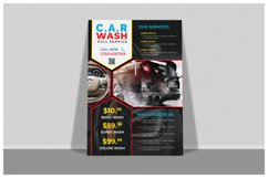 Car Wash Flyer Templates Product Image 2
