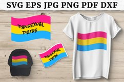 LGBT PANSEXUAL PRIDE FLAG SVG, Sublimation Design Product Image 1