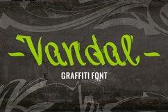Vandal   Graffiti Font Product Image 1