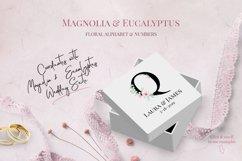 Magnolia & Eucalyptus Floral Alphabet Product Image 2