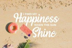 Web Font Rising Sun Product Image 4