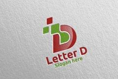 Digital Letter D Logo Design 2 Product Image 4