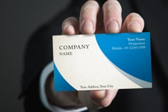 Photorealistic business card mockup set Product Image 1