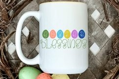 Web Font Hoppy Easter - An Easter Display Font Duo Product Image 3