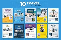 Travel 10 Flyer Template Bundle Product Image 1