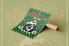 Retro Christmas Festival - Flyer Poster Product Image 1