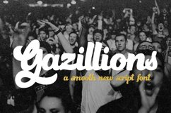 Gazillions Script Font Duo Product Image 1