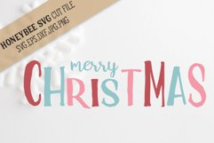 Merry Christmas svg Product Image 1