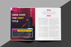 Experiment Indesign Template Product Image 5