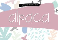 Alpaca My Lunch - Fun and Quirky Font Product Image 1