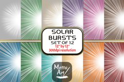 "12 Designs - 12"" x 12"" Solar Flare Bursts Set Product Image 1"