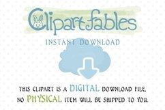 Cute GNOMES in LOVE clipart, Fairy tale, Romantic clip art Product Image 3