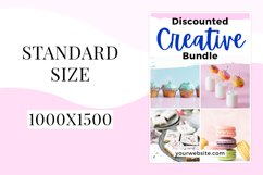 Pretty and Vibrant Pinterest Template Product Image 5