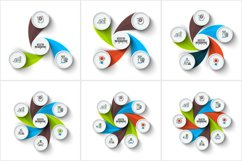 Abstract infographic templates Product Image 7