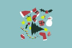 Merry Xmas Hand Drawn Illustration Pack Product Image 2