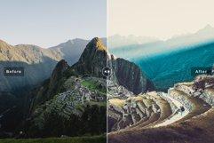 Machu Picchu Mobile & Desktop Lightroom Presets Product Image 2