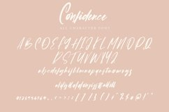 Confidence - Calligraphy Font Product Image 6