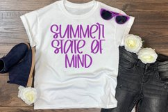 Summer Siesta - A Summery Hand-Lettered Font Product Image 4