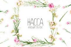 Hacca Handwritten Sans Serif Font Product Image 1