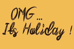 Friday Honey Quirky Font Product Image 4