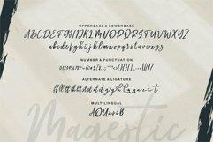 Web Font Magestic - A Brush Script Font Product Image 3