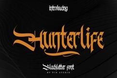 Hunterlife-Blackletter Font Product Image 1